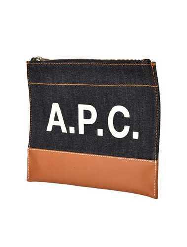 Picture of A.P.C. | Logo Print Clutch