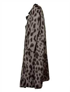 Picture of Forte_Forte | Leopard Print Oversized Coat