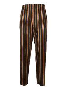 Picture of Forte_Forte | Masai Lurex Stripe Trousers