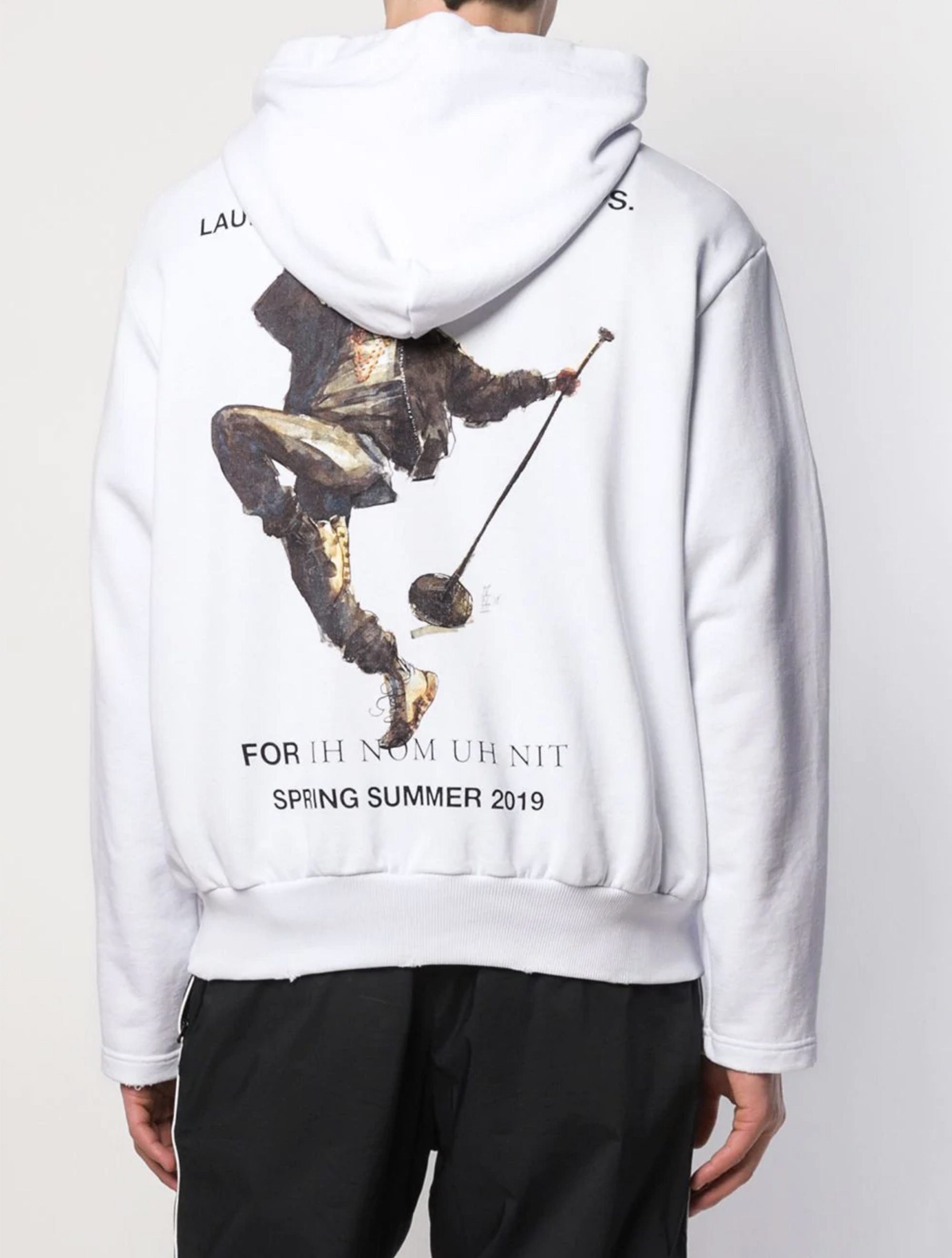 Picture of Ih Nom Uh Nit | Kanye Drake Print Hoodie