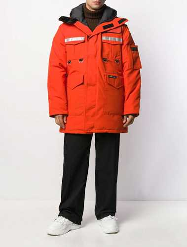 Picture of Junya Watanabe Man | Canada Goose Hooded Padded Coat