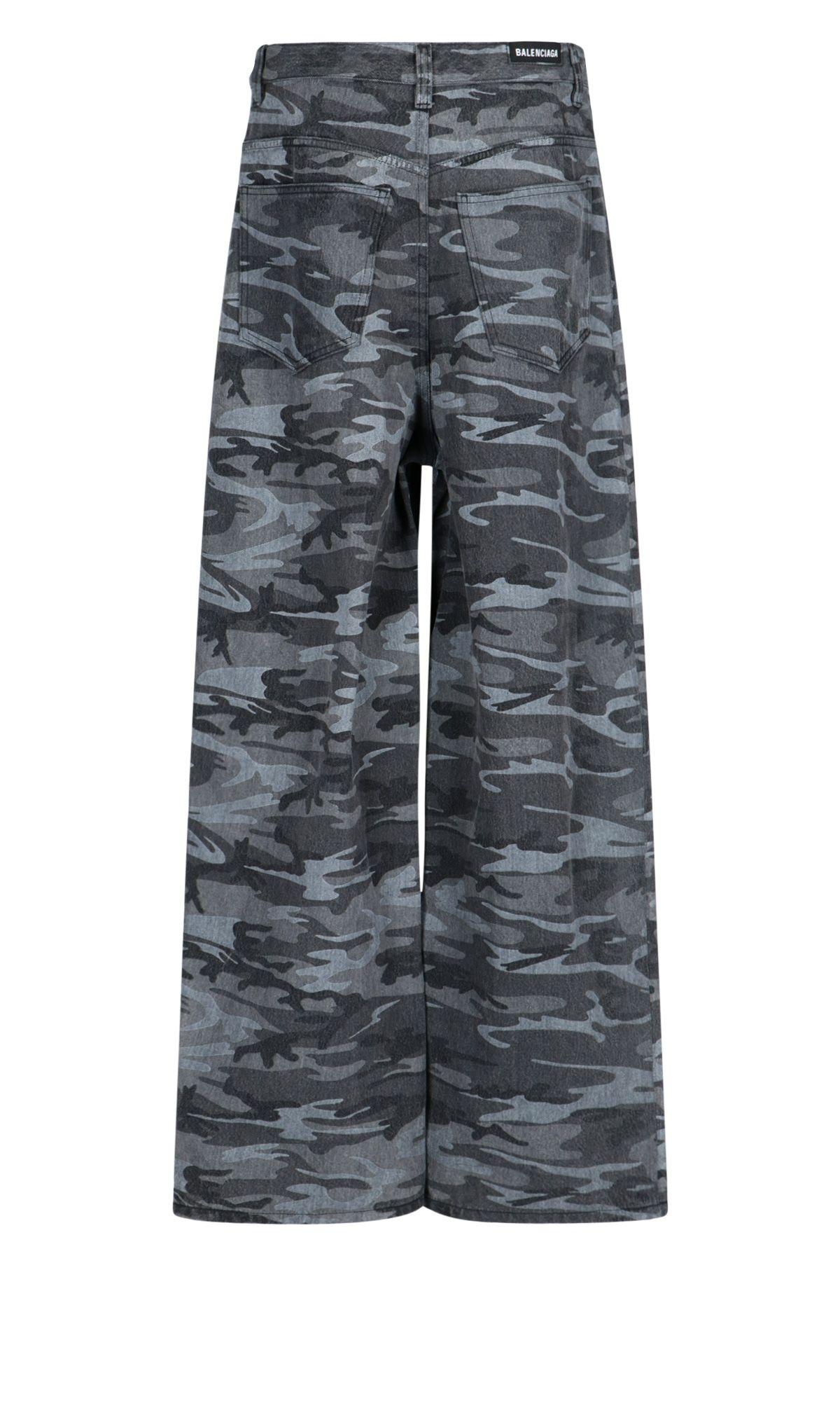 Picture of Balenciaga | Baggy Camo Pants