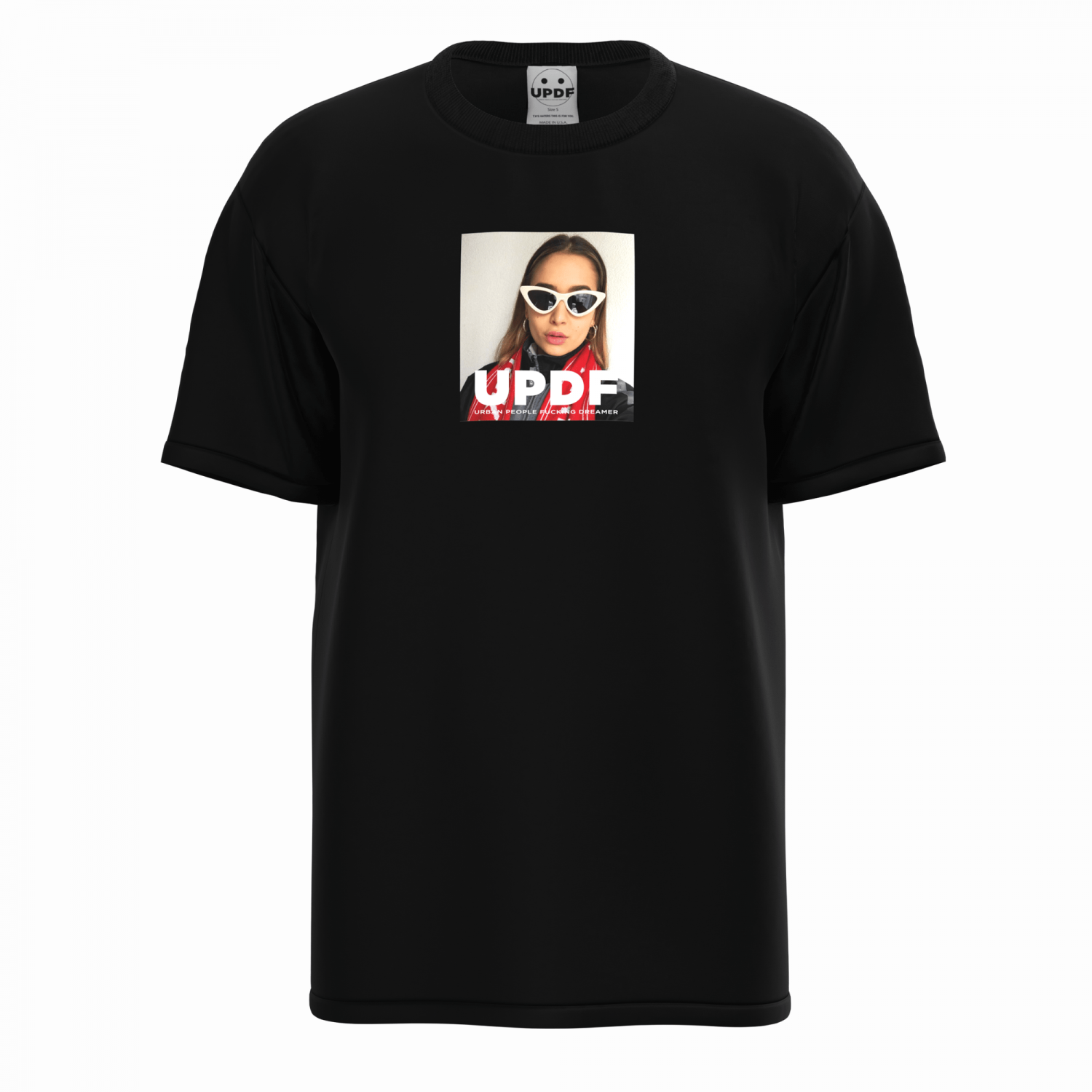 Picture of Updf   Black Anna Tee