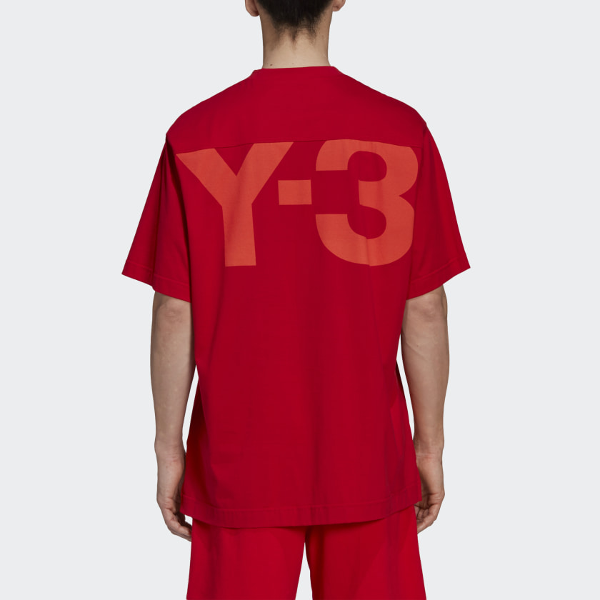 Picture of Adidas Y-3 | Classic Offset Logo T-Shirt