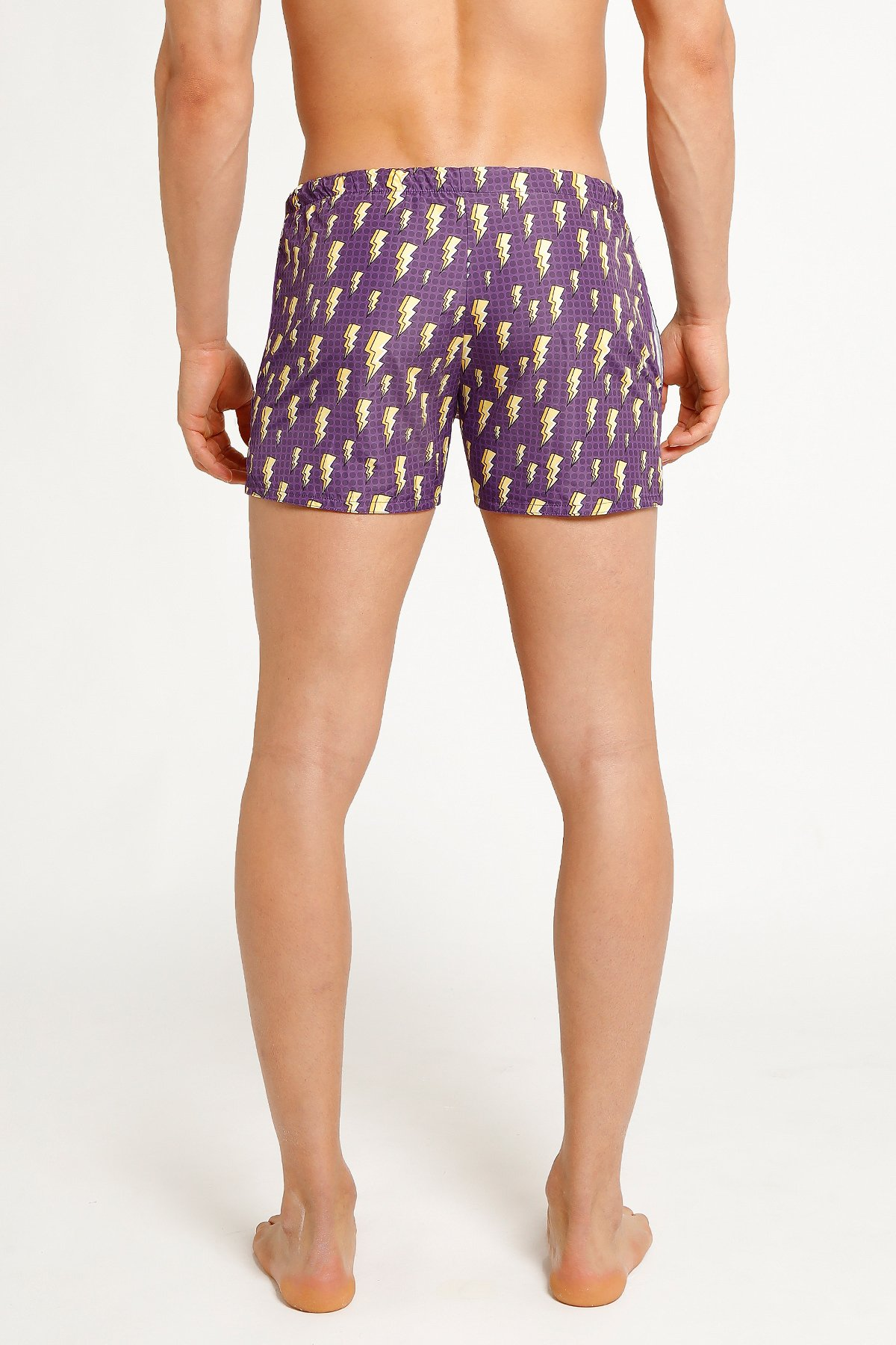 Picture of Yesiam | Shorts Thunder Purple