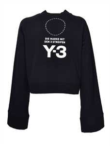 Picture of Adidas Y-3 | Cropped Sweatshirt