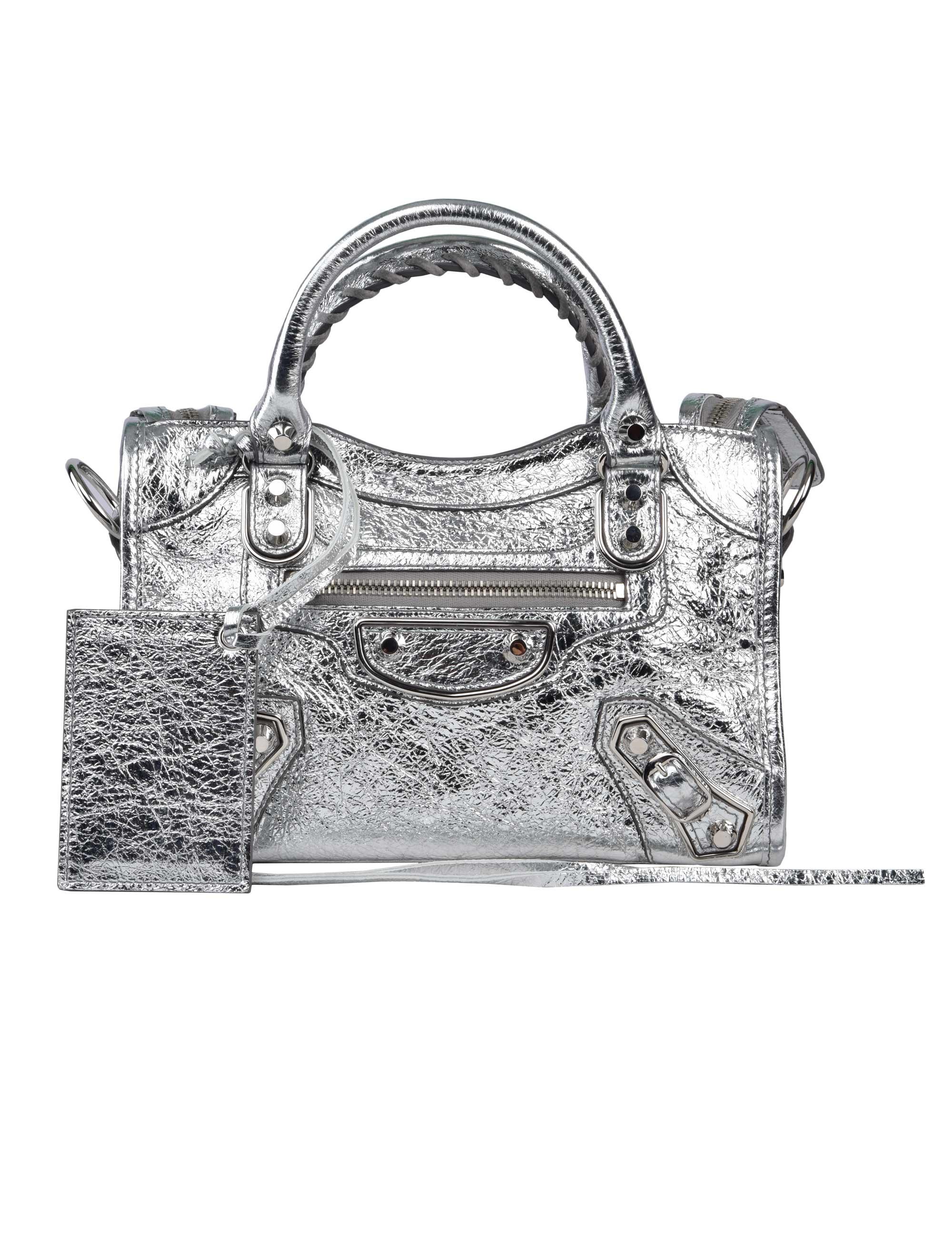 c8a6909118ed Mimma Ninni – Luxury and Fashion Shopping. Balenciaga Silver Classic ...