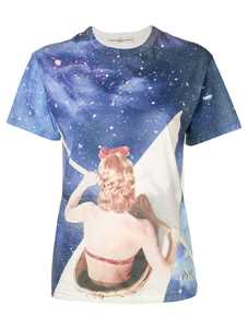 Picture of Golden Goose Deluxe Brand | Galaxy Print T-Shirt