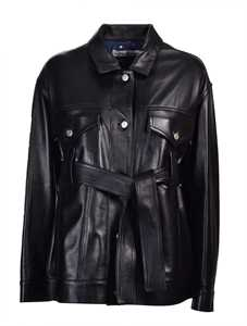 Picture of Golden Goose Deluxe Brand | Pictor Leather Jacket