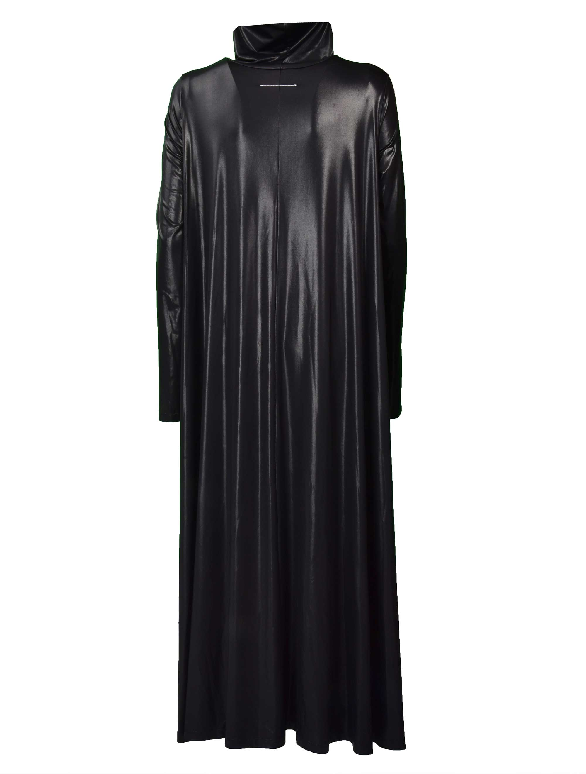 Picture of Mm6   Oversized Shiny Dress