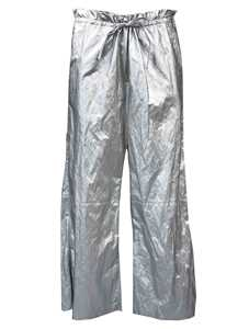 Picture of Mm6 | High-Waisted Metallic Culottes