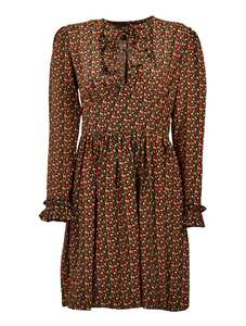 Picture of A.P.C. | Fruit Print Skater Dress