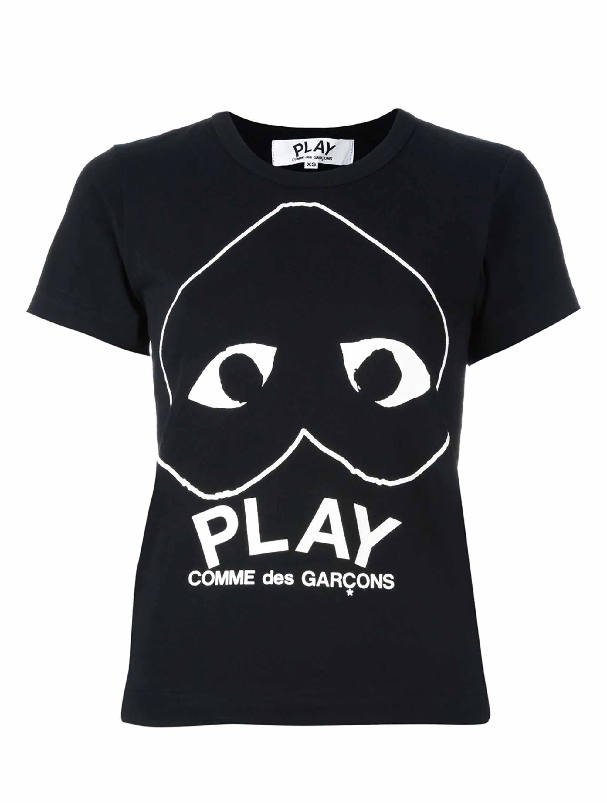 Picture of Comme Play | Logo Print T-Shirt