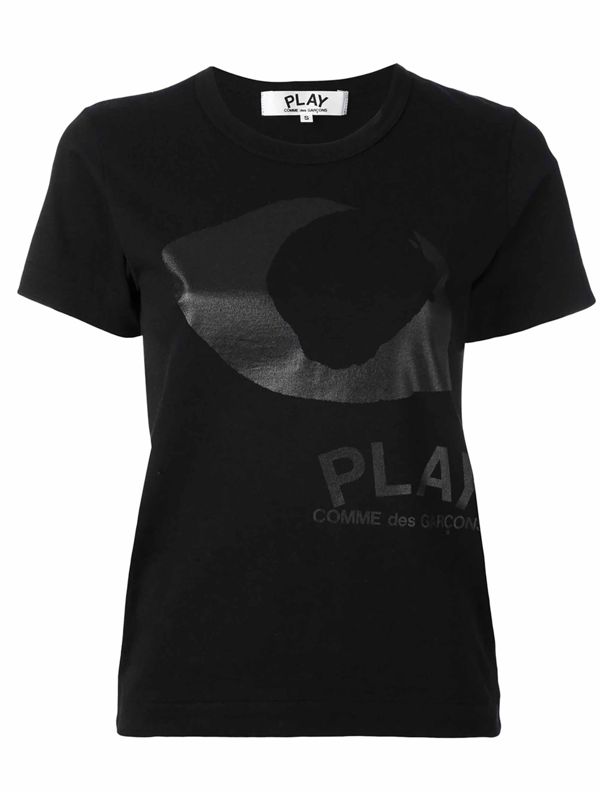 Picture of Comme Play | Eye Print T-Shirt