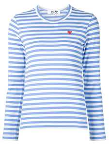 Picture of Comme Play | Stripe Print Jersey