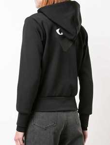 Picture of Comme Play | Drawstring Zip Hoodie