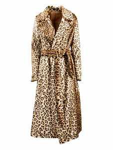 Picture of Tagliatore   Leopard Print Coat
