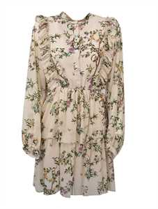 Picture of Semicouture | Floral Print Shirt Dress