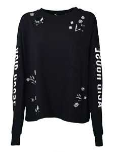 Picture of Mcq | Shiny Detailed Sweatshirt