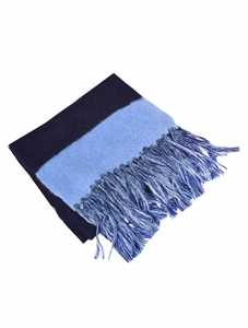 Picture of Semicouture | Fringes Scarf Double Color