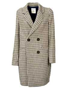Picture of Semicouture   Double Breasted Coat